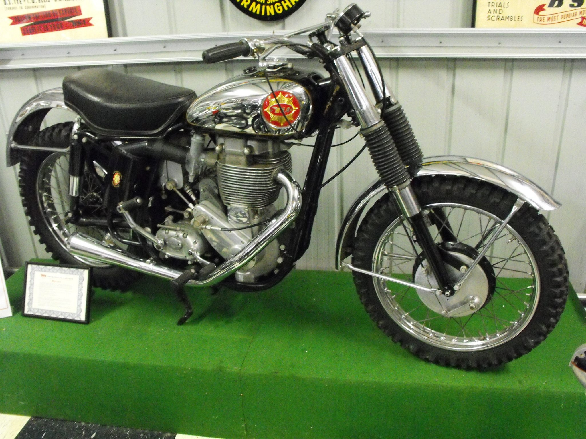 1960 BSA Goldstar Scrambler - Brand new!!